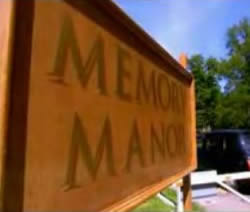 Memory Manor Sign