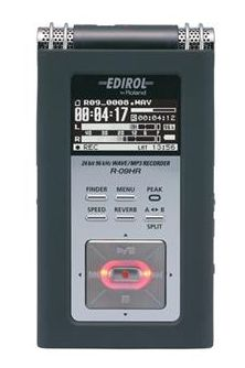 Edirol R-09HR digital recorder