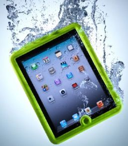 iPad in water