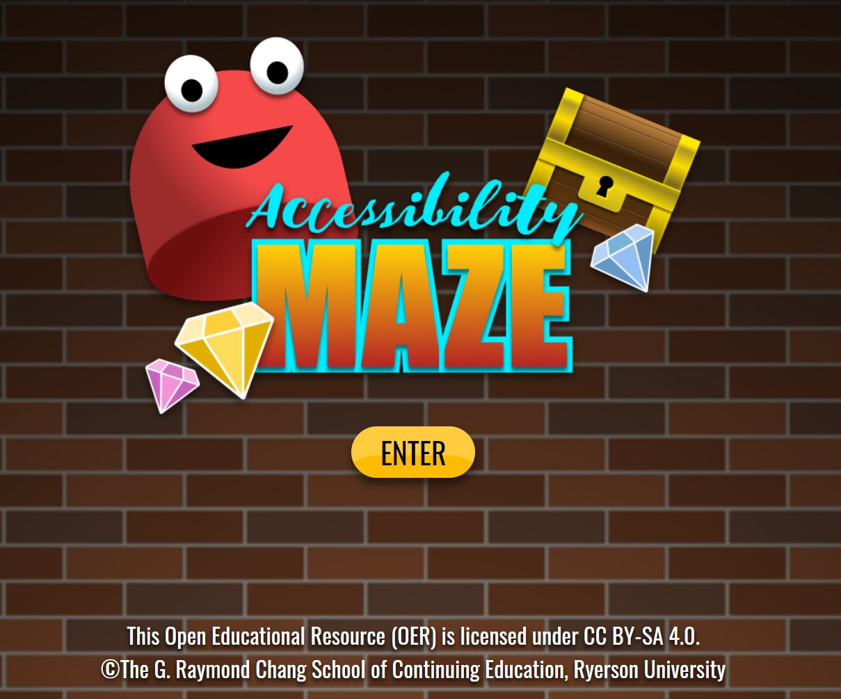 maze game screen grab