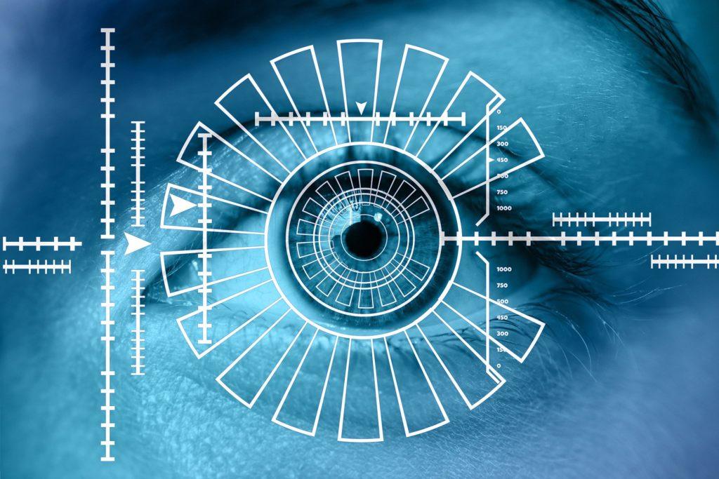 iris biometric scanning
